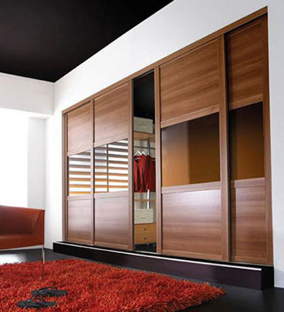 The shaker range - space master wardrobes.